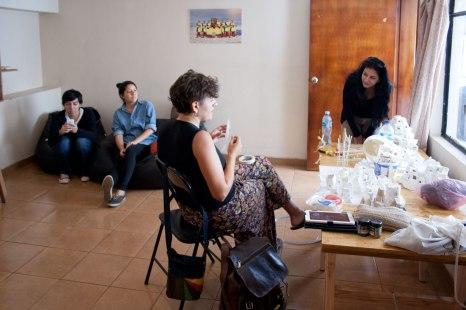 Charla sobre el proceso de residencia de Juliana Romero Hillman