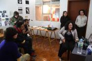Revisión con los artistas del programa Nodo de No Lugar