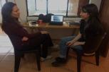 Reunión con Gabriela Santander