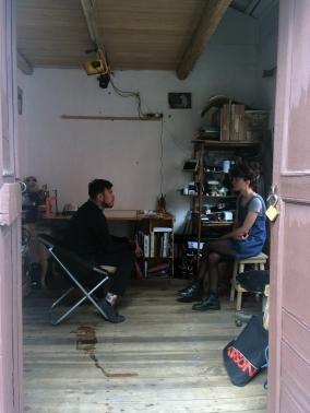 Reunión con el artista visual Patricio Dalgo