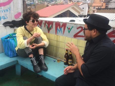 Reunión con el artista visual Juan Carlos León