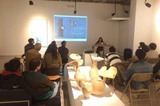 Presentación de portafolios en Más Arte Galería con Ladera